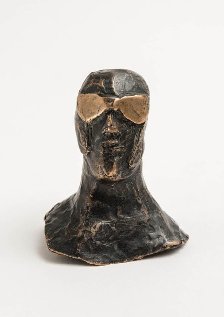 Maquette for a Goggle Head, c 1967. Please click to see an enlarged image