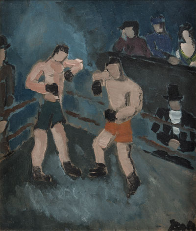 Boxers, c 1930. Please click to see an enlarged image