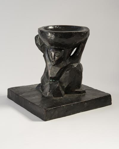Maquette for a Bird Bath, 1914. Please click to see an enlarged image