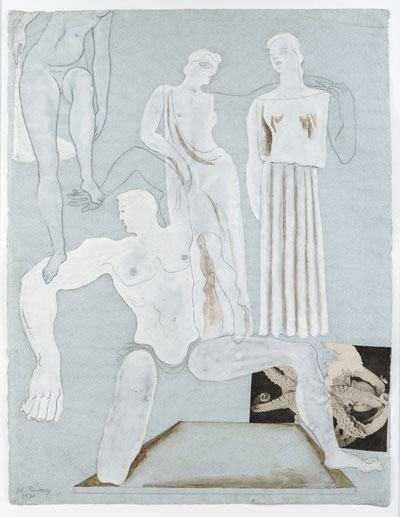 Classical Figure Studies, 1930. Please click to see an enlarged image