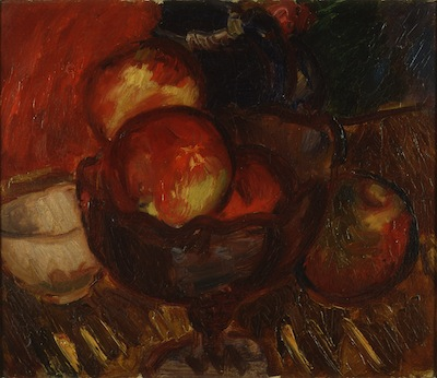 Still Life with Apples. Please click to see an enlarged image