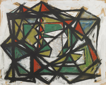 Untitled, 1949. Please click to see an enlarged image